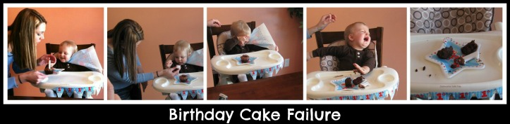 Birthday Cake Failure