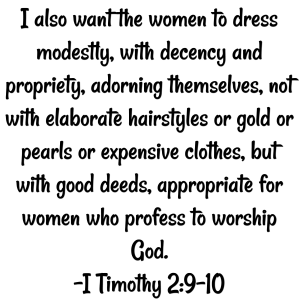 I Timothy 29-10